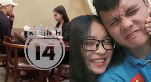 Bắt gặp Quang Hải và Nhật Lê đi ăn mùi mẫn đêm qua, đã quay lại với nhau?