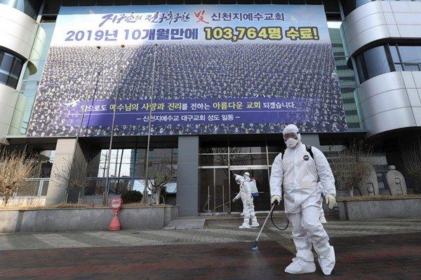 Thêm 169 người nhiễm virus corona tại Hàn Quốc, tổng cộng 1.146 ca-1