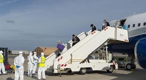 Chỉ định 3 sân bay được đón người từ vùng dịch ở Hàn Quốc về nước