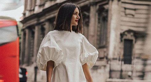 Những kiểu váy trắng cho mùa hè