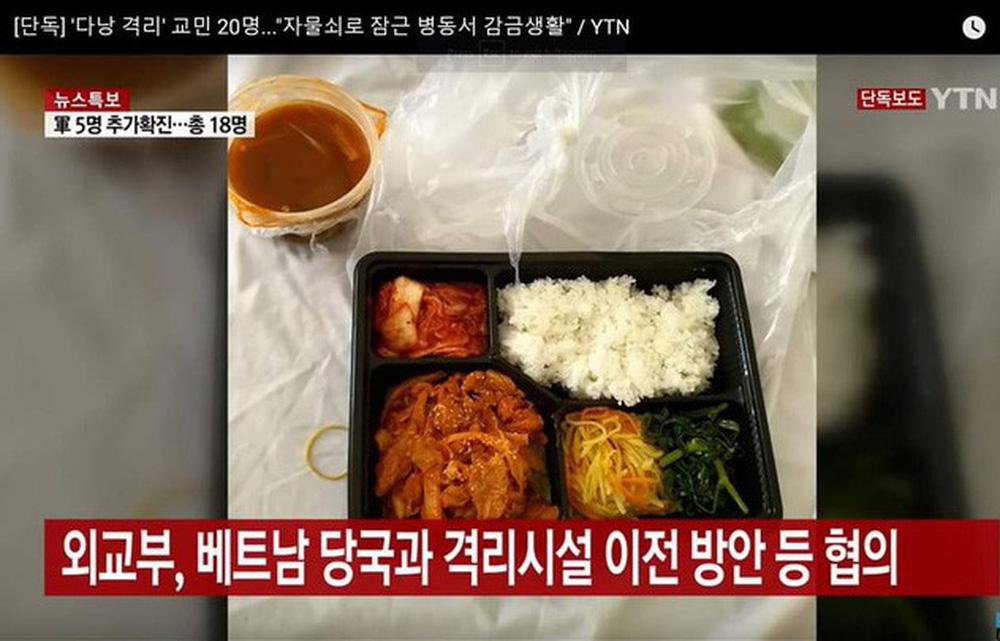 Vụ đoàn khách Hàn Quốc chê ăn uống tồi tệ khi cách ly ở Đà Nẵng: Nhà hàng nấu 22 suất cơm nói gì?-4