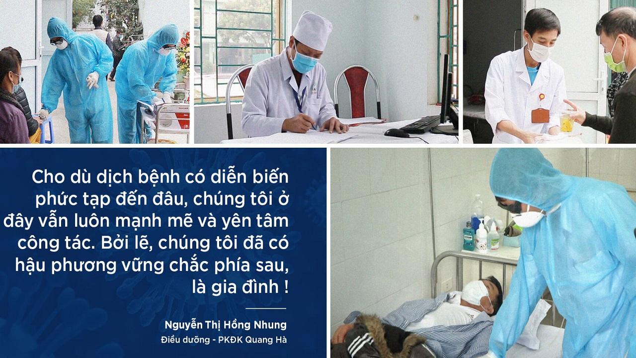 Lời nhắn gửi xúc động của gia đình dành cho các bác sĩ ở tâm dịch Covid-19
