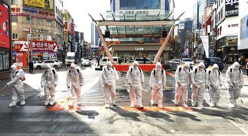 Hàn Quốc thêm a256 ca nhiễm virus corona, tổng số 2.022