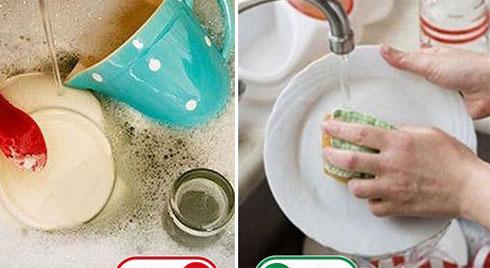 6 thói quen dùng nước rửa bát nhiều người làm nhưng hóa ra sai lầm