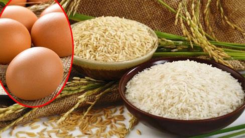 Con dâu đặt trứng vào thùng gạo, 1 tháng sau gọi mẹ chồng ra xem điều lạ xảy ra