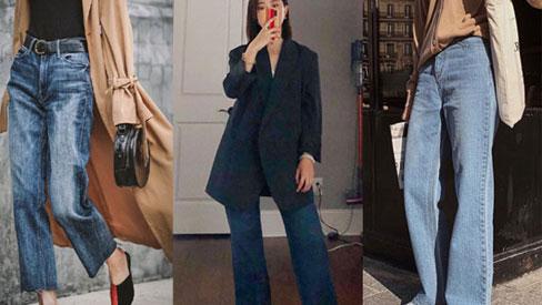 4 dáng quần jeans mà người đùi to  có thể mặc đẹp