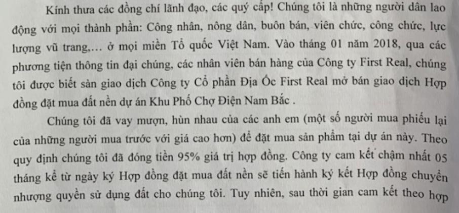 Quảng Nam: Người dân bức xúc vì công ty Đất Quảng bội tín nhiều lần-2