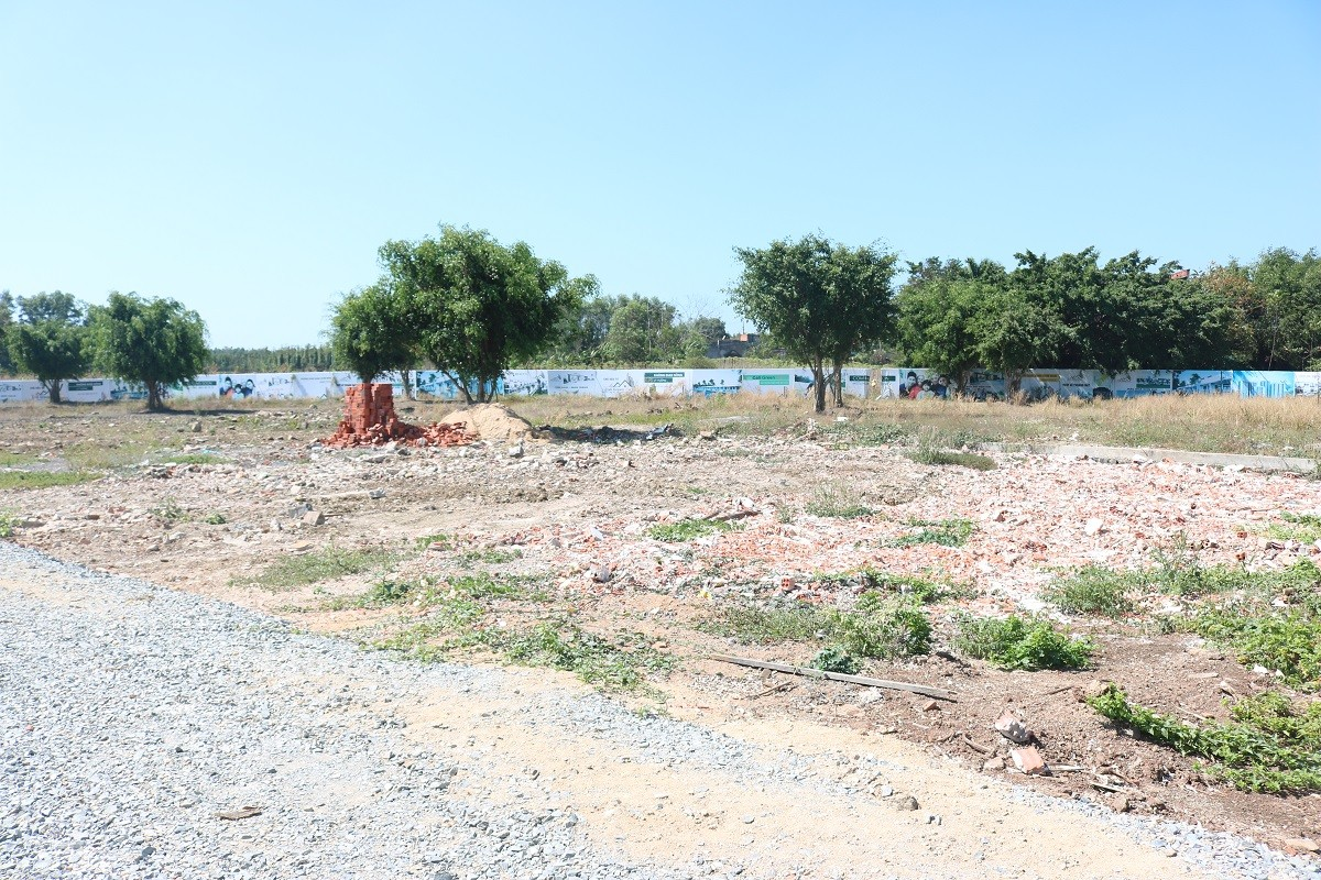 Sau phản ánh của báo Người Đưa Tin, UBND huyện ra văn bản khẩn nghiêm cấm phân lô bán nền KDC Đá Bạc – Châu Đức-3