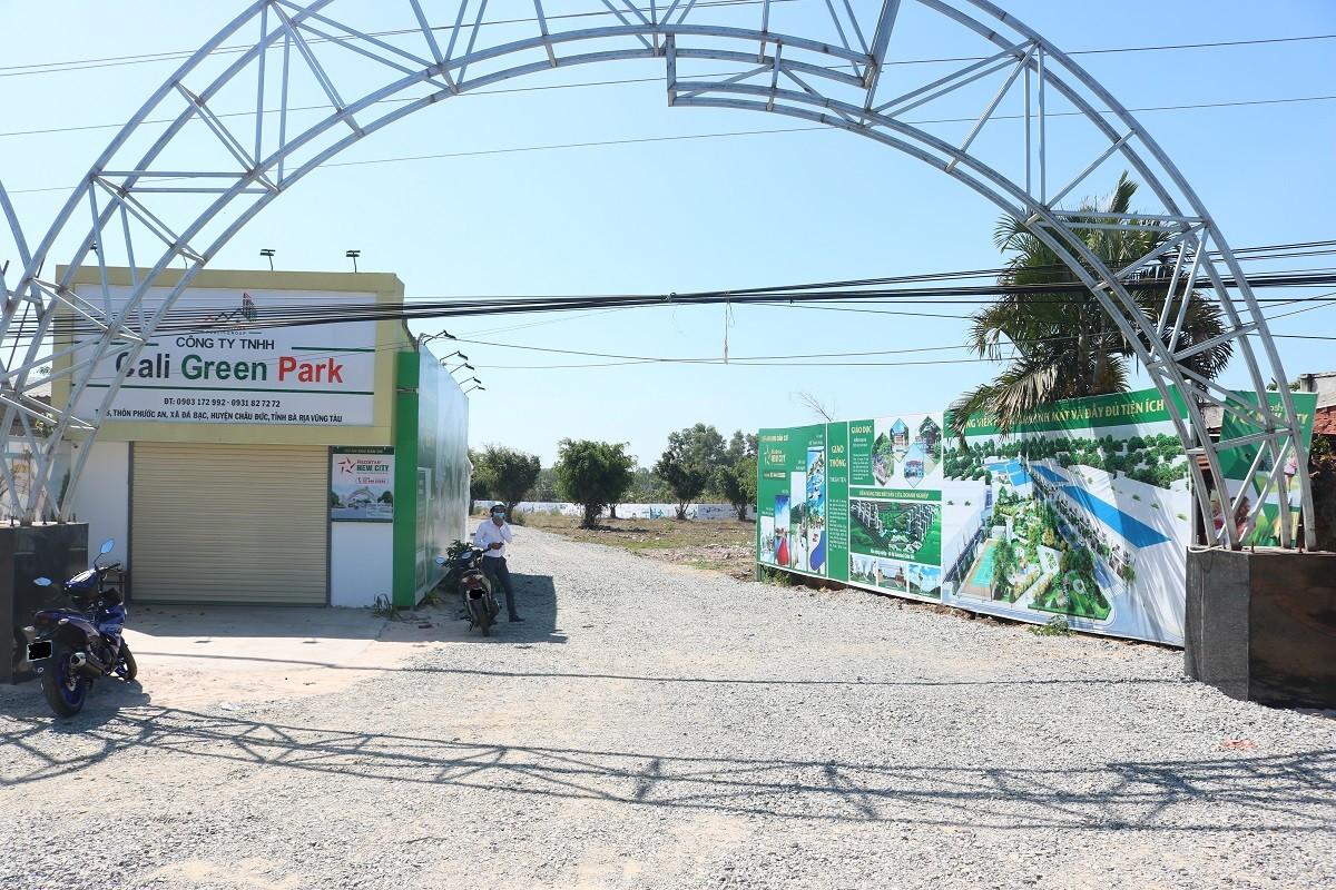 """Ăn theo cơn sốt"""" đất Bình Ba, Cali Green Park rao bán lúa non dự án còn trên giấy-1"""