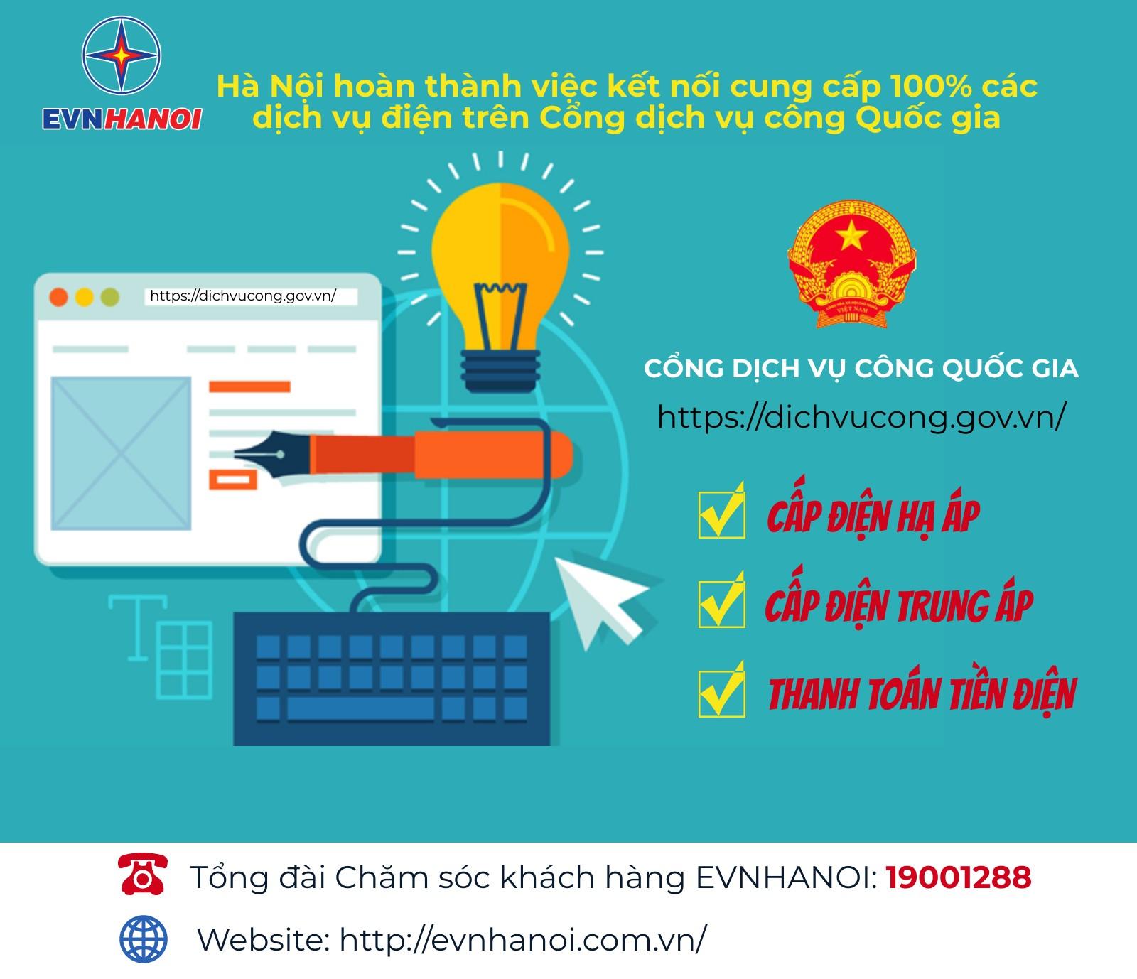 EVNHANOI khuyến khích khách hàng sử dụng các dịch vụ điện trực tuyến-3