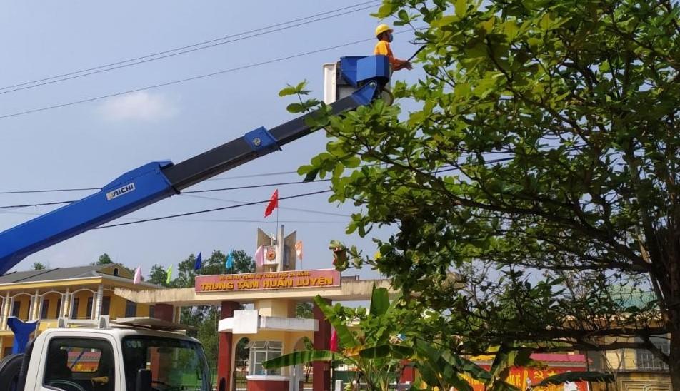 PC Đà Nẵng: Sẵn sàng đảm bảo điện phục vụ khu cách ly phòng dịch nCoV -2