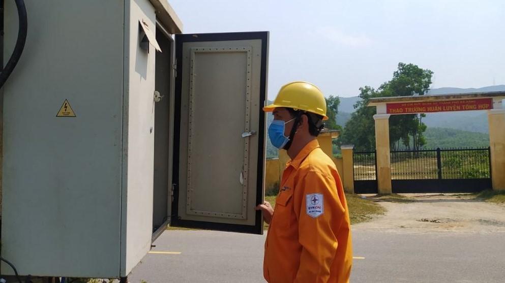PC Đà Nẵng: Sẵn sàng đảm bảo điện phục vụ khu cách ly phòng dịch nCoV -1