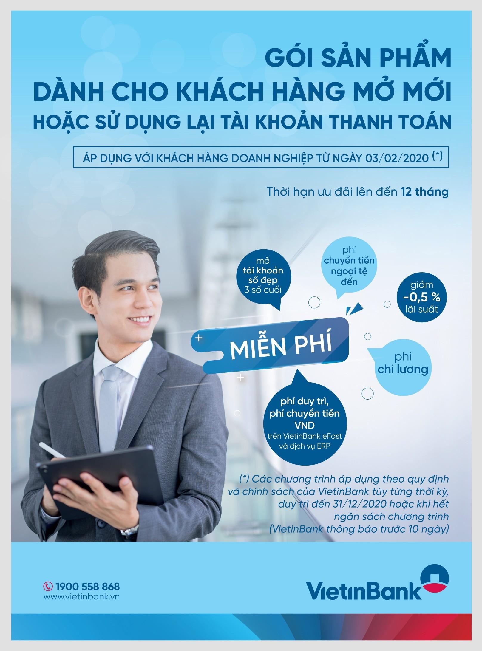 VietinBank đồng hành cùng doanh nghiệp với nhiều gói tín dụng ưu đãi-1