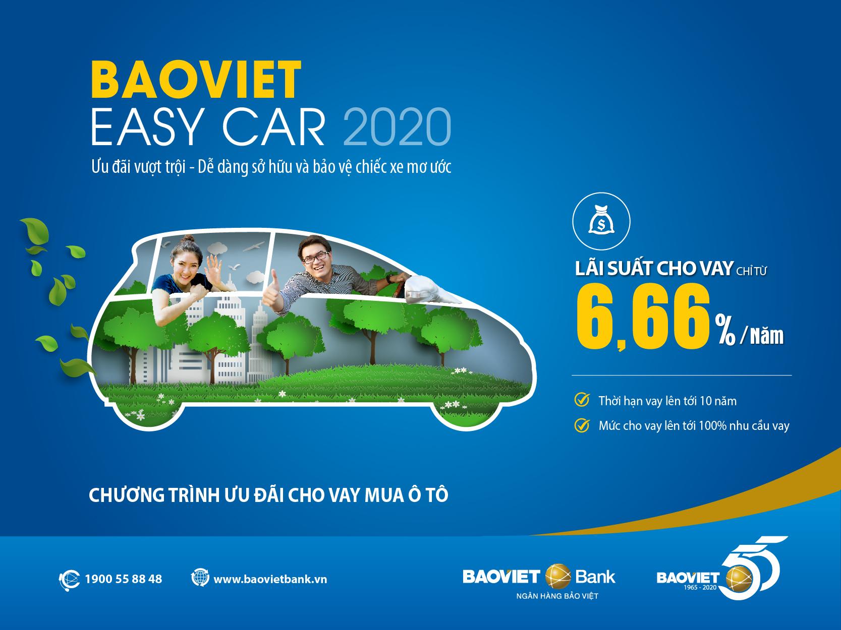 Vay mua ôtô tại BAOVIET Bank, phê duyệt trong 12 giờ làm việc-1