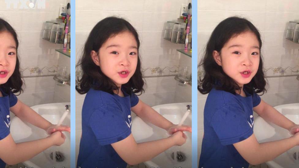 Trẻ em Việt Nam gửi thông điệp phòng chống dịch COVID-19