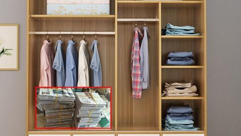 Dùng báo cũ bỏ vào tủ quần áo, 1 tuần sau điều kỳ diệu xảy ra khiến ai cũng tròn mắt