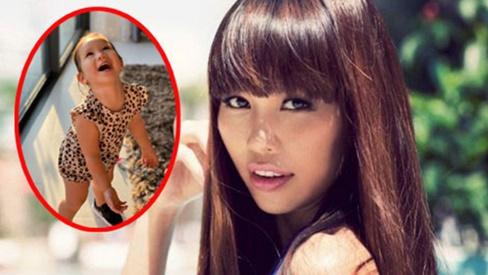 Khoe ảnh Myla vui chơi ở nhà vô cùng đáng yêu, nhưng siêu mẫu Hà Anh khẳng định ngầm chân lý nuôi dạy con gái qua 1 chi tiết