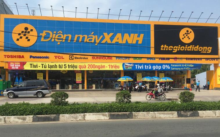 Các cửa hàng điện thoại, điện máy phải đóng cửa vì dịch Covid-19, nhà đầu tư bán tháo cổ phiếu Thế Giới Di Động