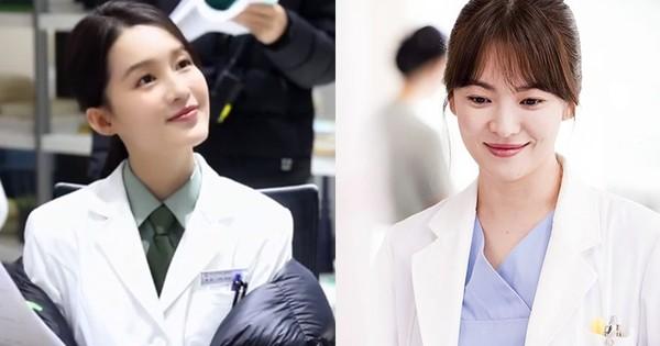 Lý Thấm bị chê bai bắt chước tạo hình của Song Hye Kyo trong phim