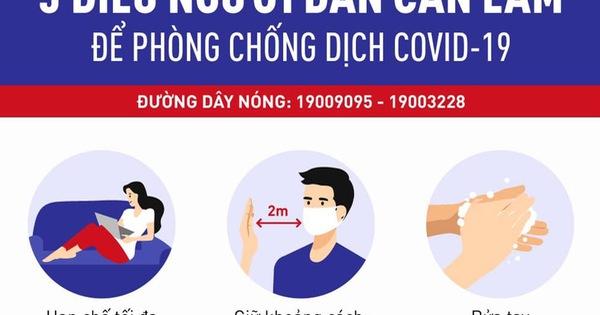 Người dân an tâm khi gọi điện cho bất cứ ai cũng nhận được ngay thông báo của Bộ Y tế: