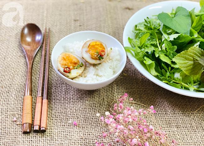 Vụng mấy cũng làm được trứng ngâm xì dầu ăn siêu ngon-7
