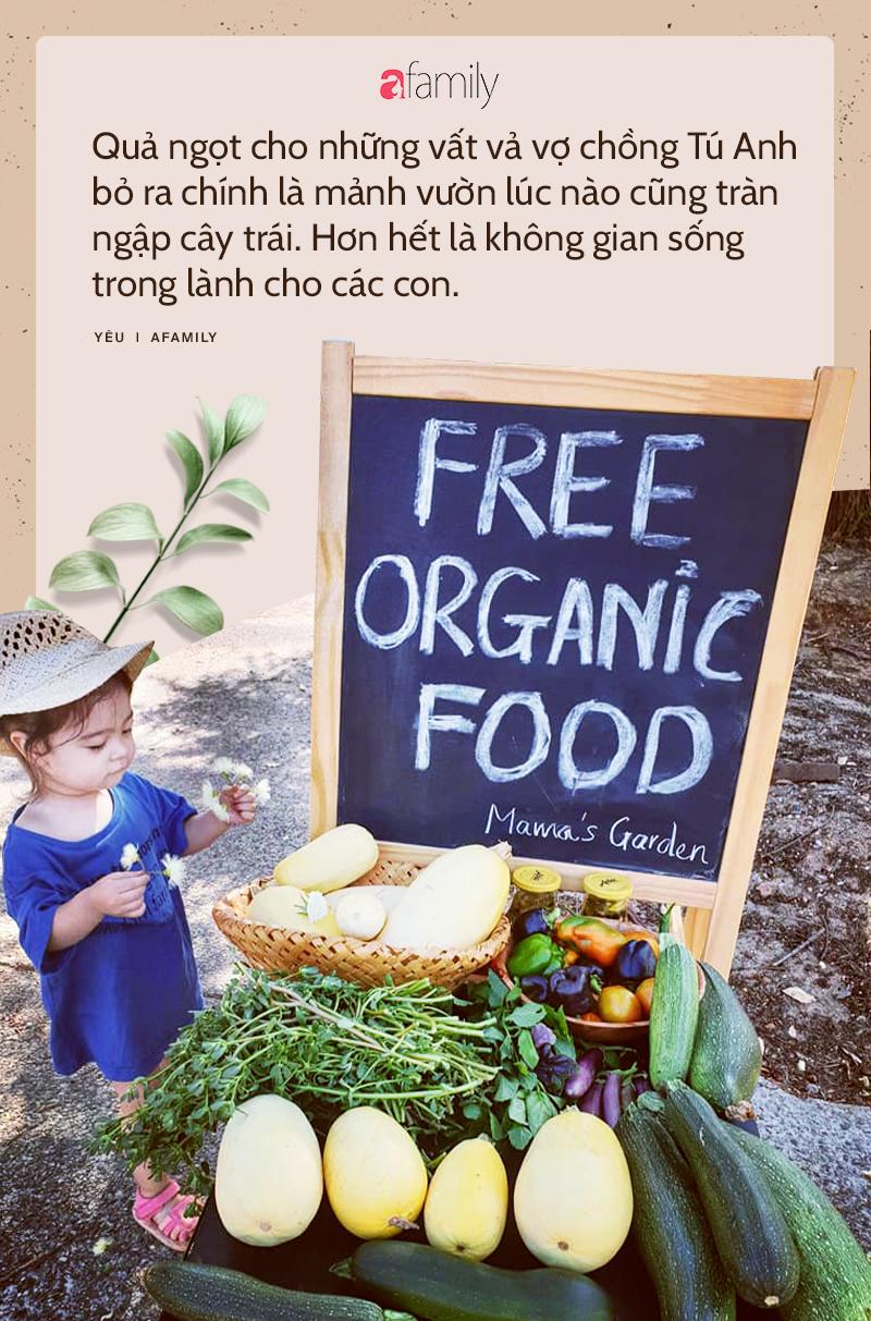 Chẳng đợi già mới về vườn, mẹ bỉm sữa Việt mua 2000m2 đất ngoại ô nước Úc đổ mồ hôi trồng rau nuôi gà, tận hưởng hạnh phúc ngay và luôn-2