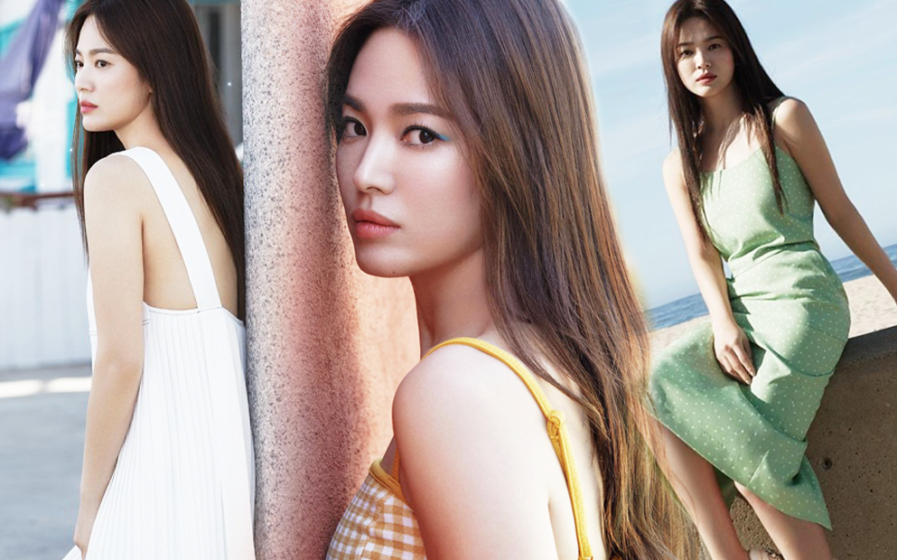 Bộ ảnh mới khoe gây bão của Song Hye Kyo: U40 mà trẻ đẹp mơn mởn như gái đôi mươi, body hậu ly hôn lột xác bất ngờ