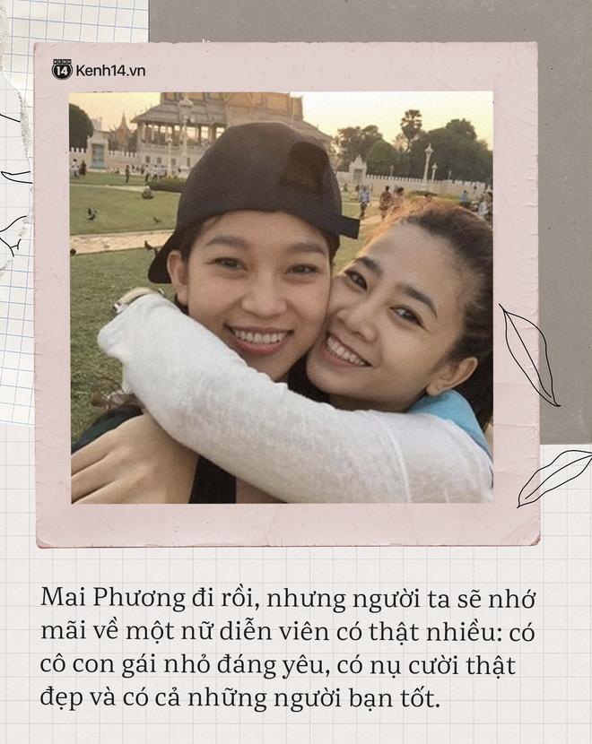 Có 2 người bạn tri kỷ luôn ở bên cố diễn viên Mai Phương lúc đau đớn, tràn lệ vì bệnh tật cho đến khi nhắm mắt xuôi tay-4