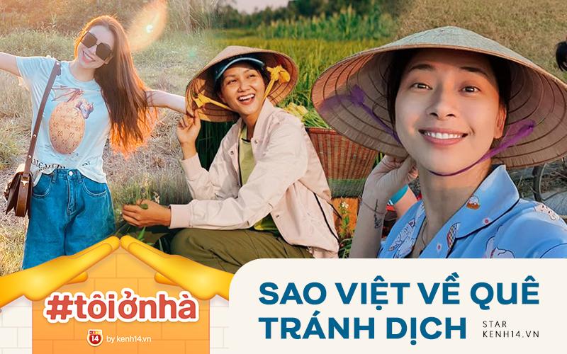 Sao Việt về quê tránh dịch: H'Hen Niê gia nhập
