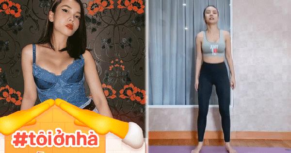 15 ngày ở nhà: Hãy học Yến Trang cách tập luyện giúp cơ thể dẻo dai, tinh thần lạc quan hơn mỗi sáng