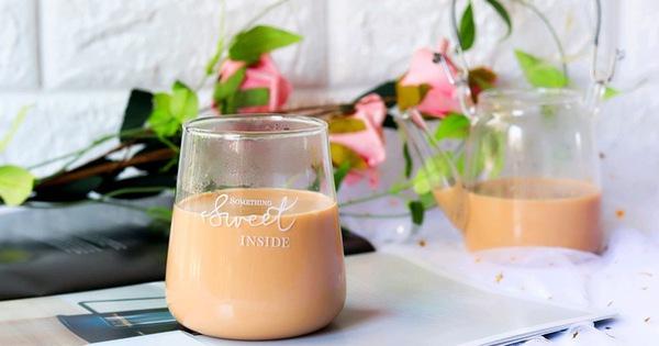 Có món trà sữa ngon lại giúp phòng cảm cúm, nhà tôi ngày nào cũng uống
