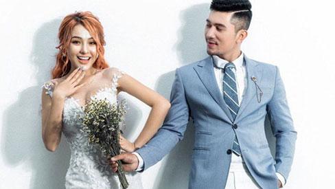 Lương Bằng Quang và Ngân 98 tung loạt ảnh cưới kèm tuyên bố hoãn lễ thành hôn vì COVID-19