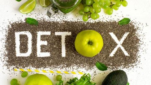 10 tác dụng của thanh lọc cơ thể qua chế độ ăn uống