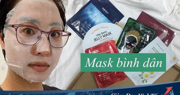 Ngày nào cũng đắp mặt nạ giấy, cô nàng này đã tìm ra 5 loại bình dân đáng mua nhất