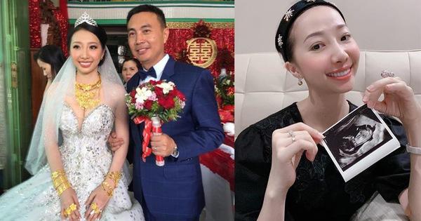 Cô dâu Hậu Giang đeo 30 cây vàng trong đám cưới bất ngờ chia sẻ về chuyện sinh con trai đầu lòng sau 2 năm lập gia đình