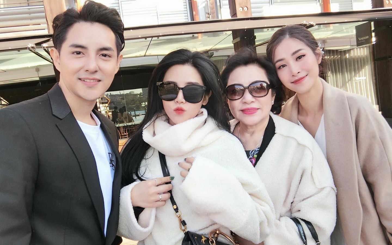 Bức ảnh hiếm hoi tiết lộ mối quan hệ khắng khít giữa Đông Nhi cùng mẹ và em chồng đại gia
