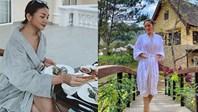 Chỉ đơn giản là diện áo choàng tắm, mỹ nhân Việt - Hànsống ảo cực