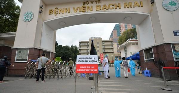 Thêm 4 ca mắc COVID-19 (BN 242-245):  1 ca liên quan đến BV Bạch Mai, 3 ca từ nước ngoài về