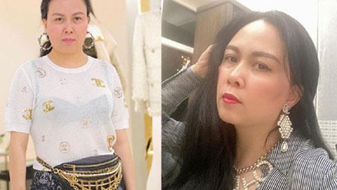 Ngược đời như Phượng Chanel: Đi sự kiện thì tác phong luộm thuộm, ở nhà cách ly thì làm tóc, lên đồ lồng lộn