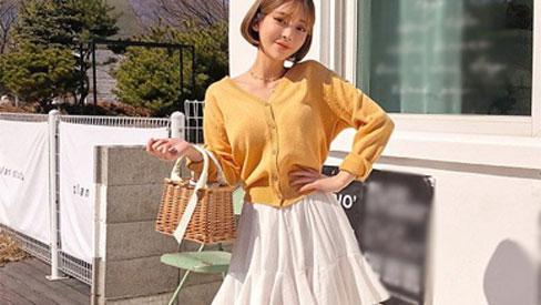 Áo cardigan, món đồ nàng không thể thiếu ngay cả khi ở nhà giữa mùa Hà Nội mưa lạnh