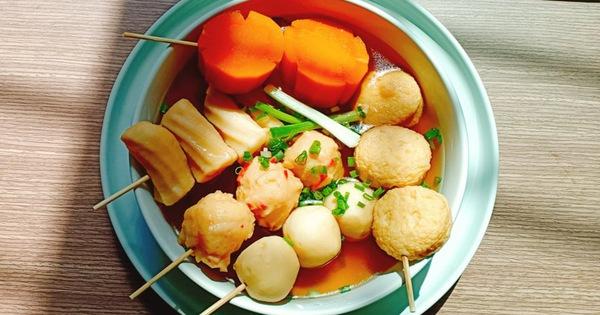 Học người Hàn cách nấu canh chả cá vừa ngon vừa đẹp đổi món cho cả nhà