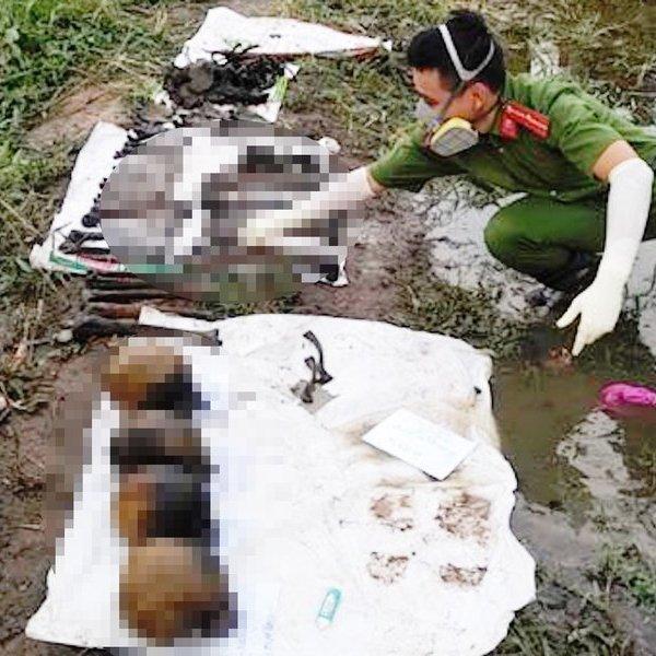 Điều tra làm rõ vụ phát hiện 4 bộ xương người bên cạnh bờ sông