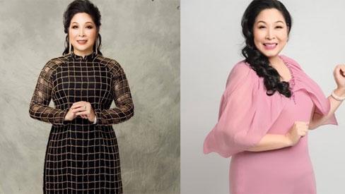 Học hỏi nghệ sĩ Hồng Vân gu thời trang giấu body thừa cân đỉnh nhất Vbiz
