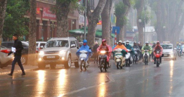 Miền Bắc đón không khí lạnh gây mưa rét, nền nhiệt giảm sâu, Hà Nội thấp nhất 16 độ C