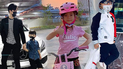 Ngắm phong cách thời trang của các nhóc tì nhà sao Việt, sành điệu nhất là bé này