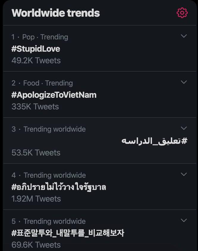 Hashtag #apologizetovietnam lên top trending Twitter giữa đêm vì 20 du khách Hàn nói rằng mình bị ngược đãi-7
