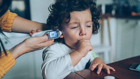 Nhiều trẻ nhiễm COVID-19 không có biểu hiện ho hoặc sốt