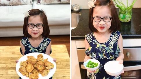 Bé gái Hà Nội mới học cấp 1 đã biết đi chợ nấu cơm, nấu được cả những món đến người lớn cũng lắc đầu chịu thua