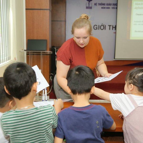 Học sinh tại Hà Nội có cơ hội tiếp cận sớm nền giáo dục của Mỹ