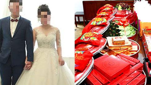 Sát ngày cưới cô gái quyết định hủy hôn làm mẹ đơn thân vì chú rể cò kè từng tráp ăn hỏi, nhất quyết không mời cơm nhà gái vì lo tốn tiền